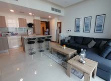 Higher Floor  20th  Brand New 1 BR FF Apartment + Balcony  near Juffair Mall For Rent