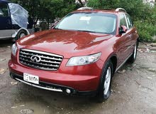 Infiniti FX45 2007 For sale - Maroon color