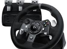 عجلة قيادة لوجيتك g920 xbox one