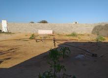 قطعة الأرض بيه استراحه  مسحة 550 متر