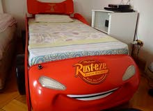 Car bed for kids & Big wardrobe -Available for Sale due to relocation