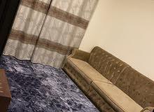 غرفه وصاله مفروشه للايجار الشهري في عجمان شارع المينا 2500 شامل الفواتير والنت