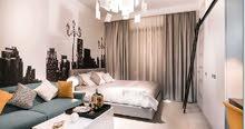 شقة للبيع غرفتين وصاله في البرشا مقدم 124000