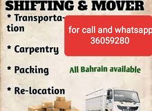 Moving and shifting service  With Transport Big 6wheel Truck & small p