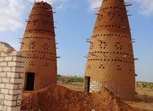 بناء وانشاء جميع ابراج الحمام بالفخار و عنابر الحمام بالفخار للتواصل 0115460238
