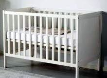 سرير أطفال من ايكيا نفس الجديد