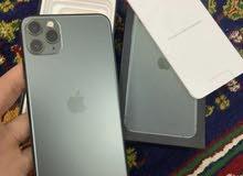 ايفون 11برو ماكس ذاكره 512 جهاز امريكي نموذج m