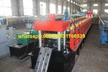 steel highway guardrail roll forming machine