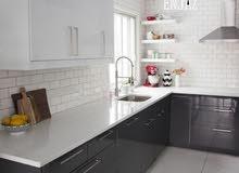صمم مطبخك و سننفذه لك بأفضل الأسعار و بجودة عالية