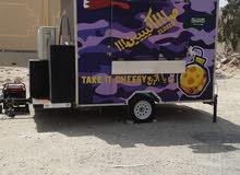فود تراك ( عربة طعام مجهزة بالكامل )