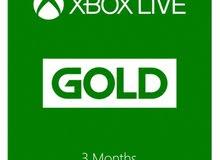 اكسبوكس لايف 3 شهور - Xbox live 3 months