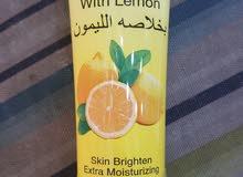 غسول الوجه بخلاصة الليمون لتنظيف و التبييض