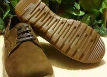 بسعر الجملة حذاء رجالي جلد طبيعي بيج