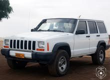 White Jeep Cherokee 1997 for sale