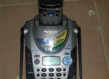 تليفون بانسونيك لاسلكى ماليزى أصلى بالعلامة المائية مستعمل استعمال مكتب استثمار للتواصل 66678223