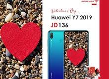 جهاز هواوي Y7 2019 متوفر لدينا بأفضل سعر معا بكج هدية وعروض اخرى كفالة الوكيل