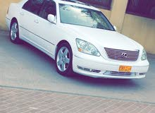 White Lexus LS 2004 for sale