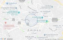 Ground Floor  apartment for sale with 3 Bedrooms rooms - Amman city Jabal Al Weibdeh