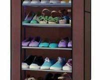 خزائن احذية قماشية بالوان عصرية خمس رفوف
