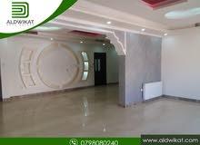 شقة مميزة للايجار في خلدا بالقرب من السيتي مول مساحة البناء 220 م