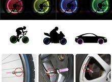 أضوية عجلات.