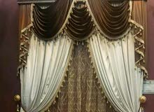we sale curtains, wall paper, carpet, furniture