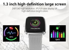 ساعة ذكية عالية الوضوح مقاومة للماء نظام تحديد الموقع وغيرها من المواصفات