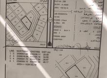 أرض سكنية للبيع في العوابي - ولاية بوشر
