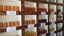 محل نبع الخير للعسل الطبيعي.