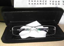 نظارة اصلية جديدة للبيع بالعدسات