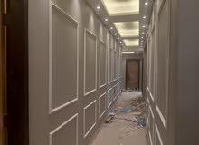 معلم دهانات. فوم. استيل .ورق جدران .بديل رخام.وجميع أنواع البويات والترميم وتصميم ديكورات
