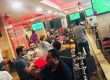 مقهى ومطعم مجهز بافخم وارقى الديكورات والمعدات .. في الأردن عمان ..