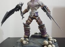 Darksiders 2 Death Collectors edition statue.Action figure Ps3 and ps4 character