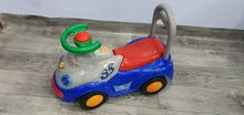 baby car and baby walker for sale both 7 kd