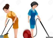 cleaning service. pertime monthly