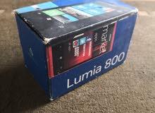 نوكيا لوميا 800 لون اسود مع كامل الاغراض