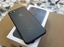 أيفون7 ذاكرة 128g لون أسود طافي نضافة فوووول100%(شوف الوصف)