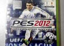 xbox 360 games pes 2012