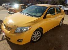 سيارة كورلا 2009 أصفر وارد أمريكي ضربتهة بالجنطة ومصلحة نفسهة