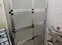 دولاب كبت مطبخ نظيف جدا الوميتال cupboard alumetal kitchen perfect cond