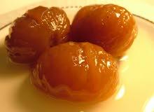 حلوي الكستناء ( ابو فروة) بالعسل سعر الكيلو 300ريال
