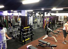 نادي رياضي مجهز بالكامل Gym