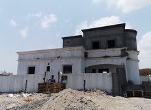منزل طابق ونص موقع العامرات مدينة النهضه مربع 12 الخدمات متوفره بكل أنواعها