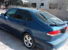 سيارة ساب موديل 2002 للبيع قطع بعد انهاء احراءات القص بالجمرك