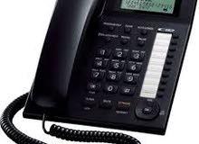 خط هاتف ارضي ثابت من غير ديون سابقة مع الجهاز