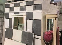 للبيع جميع انواع غرف النوم المستعمله نظيفه شبه الجديده مع التوصيل والتركيب