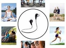Bluetooth 4.0 Headset Sports Running HIFI Stereo Wireless Earphones with Mic