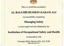 I'm Omani, looking for HSE job