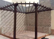 مظلات سواتر هناجر برجولات حداده عامه ترميم مباني لتواصل #0553429576 #الرياض#الدم