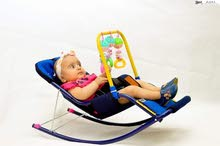 الكرسي الهزاز المميز للاطفال (الحق قبل النفاذ)